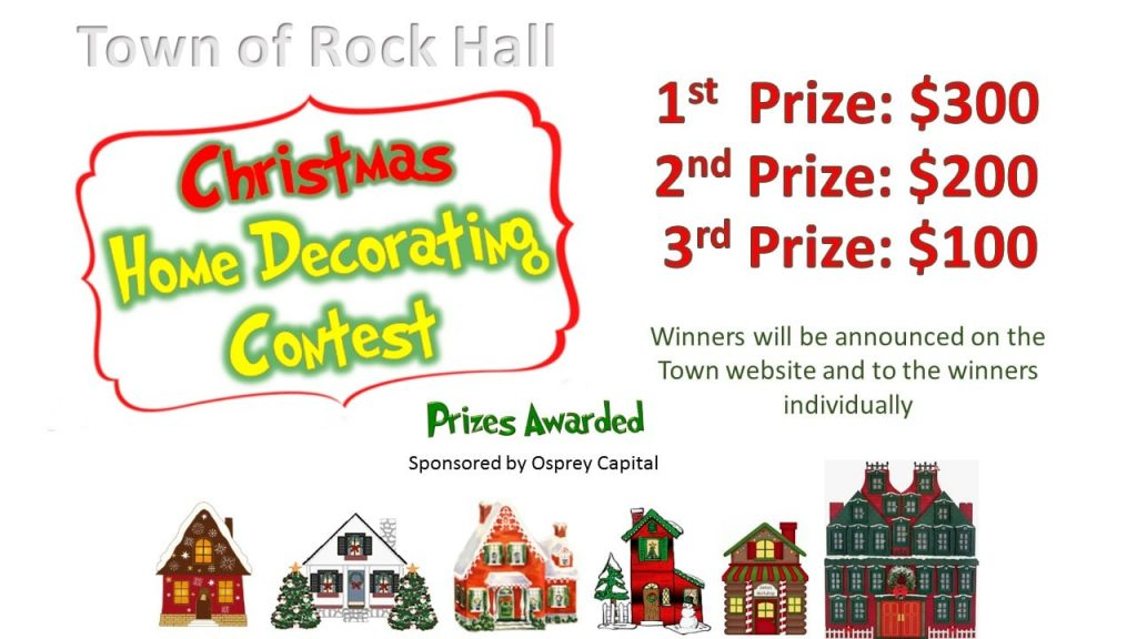 Christmas Home Decorating Contest Supporting A Thriving Rock Hall